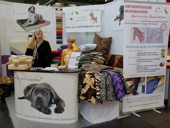 Medizinische orthopädische Hundebetten Lectus pro canibus aus Viskoschaum von Gesunde Hundewelt