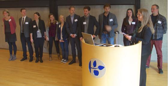 Das SMiK-Team zur Abschlusskonferenz im Februar 2015 || SMiK-teamet til afslutningskonferencen i februar 2015