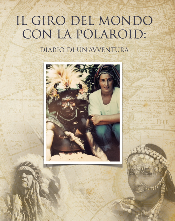 Limited Italian Edition of the Polaroid Ethnic World Tour book by Lou Di Giorgio