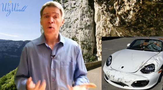 Sâle caractère = Adieu la Porsche !