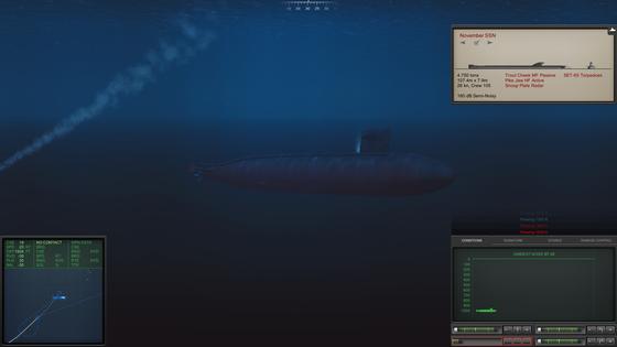 Überleben am Limit: Manchmal ist es nötig besonders tief zu tauchen um hartnäckige Torpedos oder Wasserbomben loszuwerden. Zu empfehlen ist das allerdings nicht, da einem dann selbst der kleinste Kratzer in ein nasses Grab befördern kann.