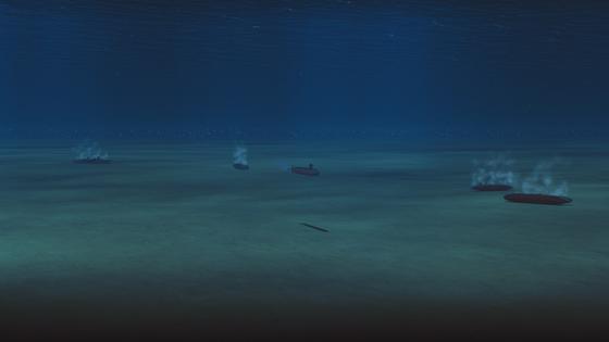 Da habt ihr euch wohl mit dem falschen U-Boot angelegt.