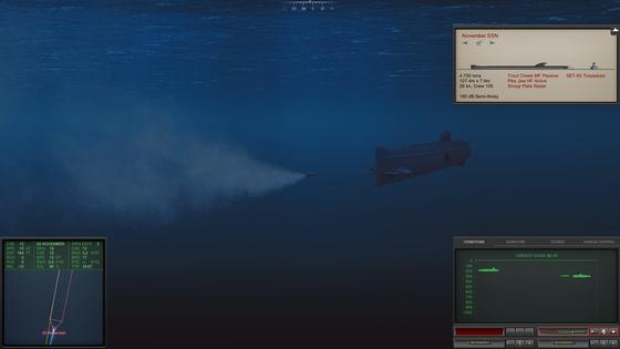 Torpedos lassen sich über ein Kupferkabel auch komplett selbst steuern, solange es nicht reißt.