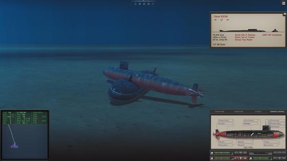 Stirb Sean! Allzu Ernst sollte man die Physik im Spiel nicht nehmen. Mein Versuch der Roten Oktober ohne Torpedos den Rest zu geben, war jedenfalls nicht von Erfolg gekrönt.