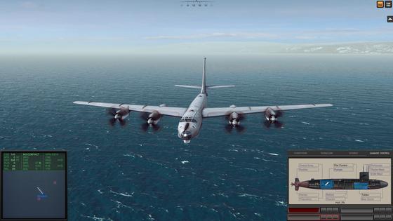 Die Tupolew Tu-132 Bear F ist meist genauso lästig wie die Hubschrauber. Dabei aber noch deutlich besser bewaffnet.