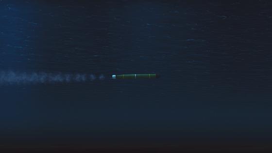 Der Mark-48-Torpedo ist die Hauptbewaffnung der modernen US-U-Boote. Die Langlebigkeit und Wendigkeit sind ausgezeichnet. Allerdings kann dieser kleine Freund schnell zum größten Feind werden, wenn man ihm zu nahe kommt.