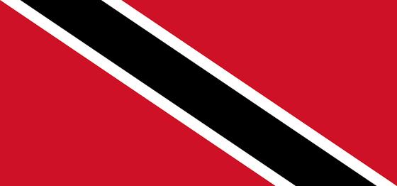 Flagge von Trinidad and Tobago