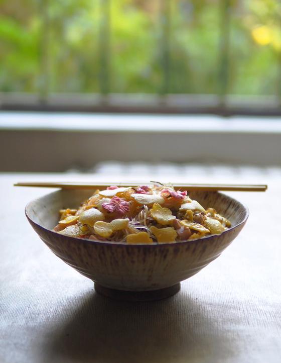 春雨サラダ insalata di vermicelli
