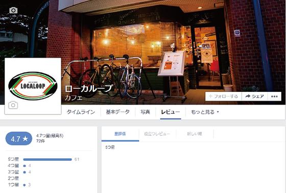 秋田市 カフェ ローカループ_Facebookレビュー1