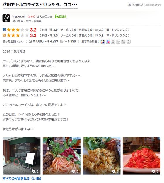 秋田市 カフェ ローカループ_食べログ2