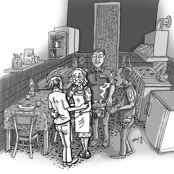 Illustration für eine Zeitschrift