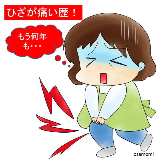 オサモミ整体院 ひざ痛