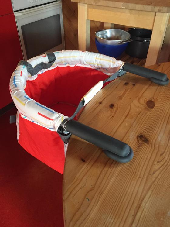 Dieser Sitz kann schnell und einfach montiert werden