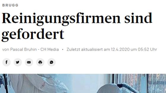Artikel Aargauer Zeitung
