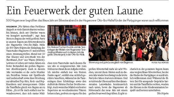 Artikel Tilo Röpcke - Schweriner Volkszeitung