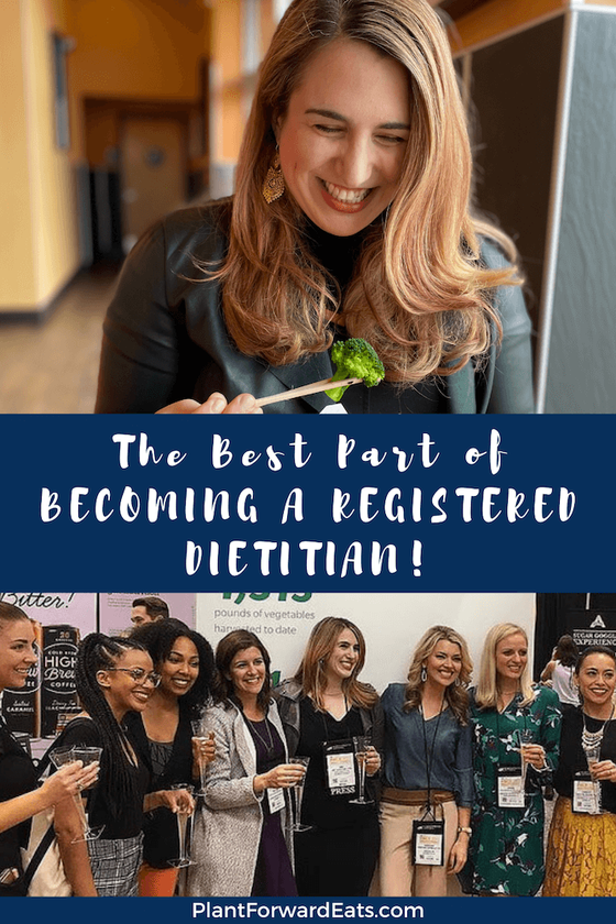 Interested in becoming a registered dietitian? Wondering what can you do with a nutrition degree? Being a media RD may be your dream job! Learn why being a media RD is one of the best health careers. #dreamjob #nutritionist #healthcareers #rd2be #writer