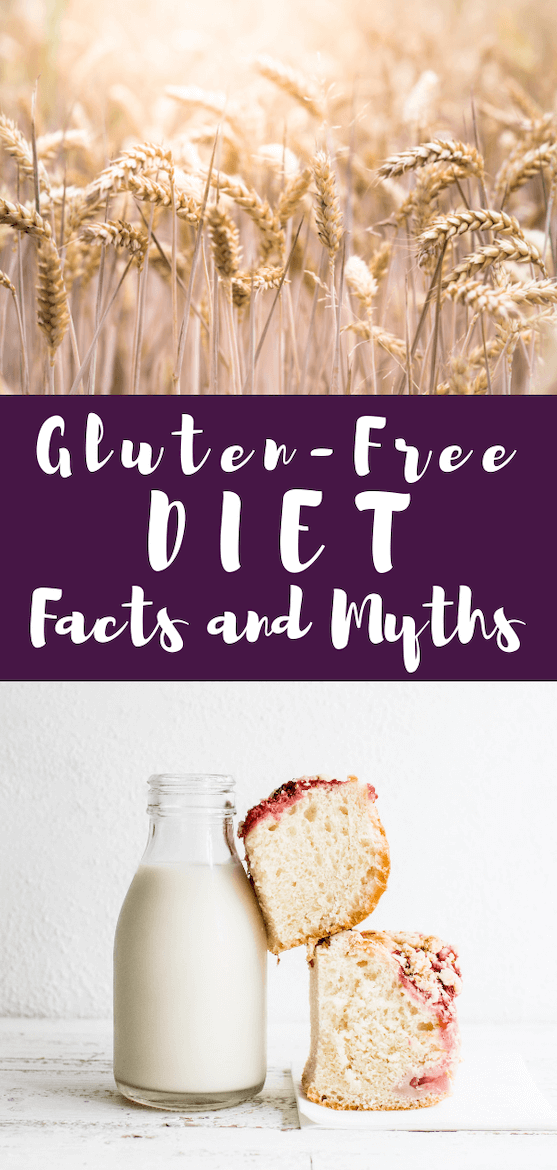Been diagnosed with Celiac Disease or thinking about trying a new diet? You need to know the facts & myths around a gluten-free diet before you begin, but you can enjoy GF recipes either way! #amyseatlist #gfrecipe #glutenfreefactsheet #celiacsawareness