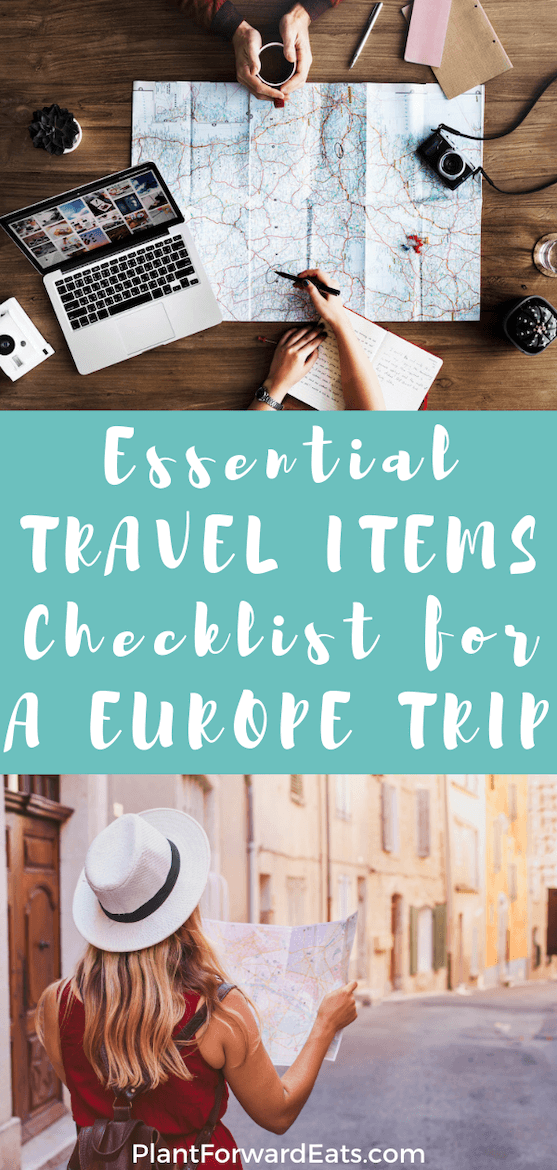 Yay, Europe travel! Traveling to Europe for the first time? Here are packing hacks, a packing list for vacation, and travel tips. You'll get a before-travel checklist and my best packing tips for planning a trip to Europe. #whattopack #europe #travelsmart