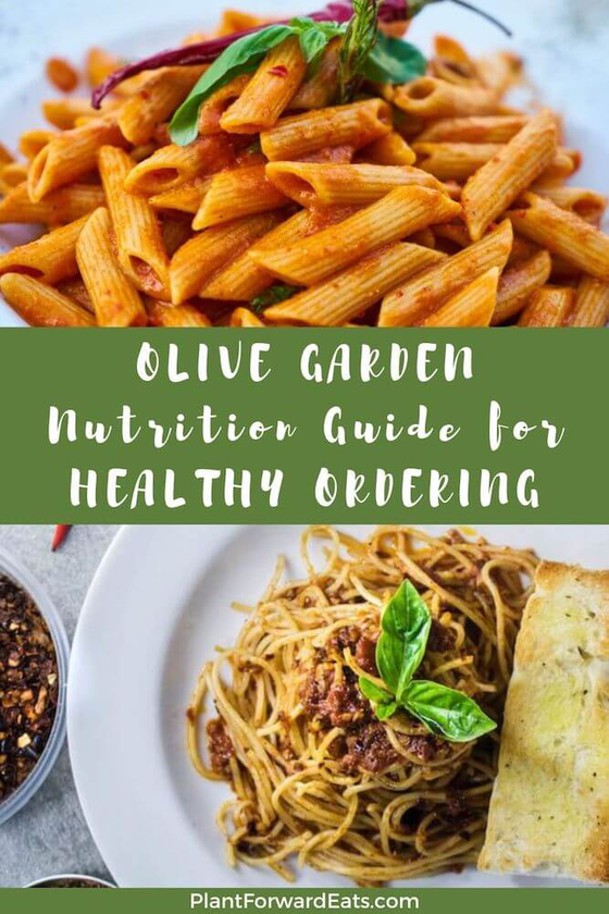 What are the best recipes to order at Olive Garden? Should you order salad, soup, breadsticks, pasta or chicken?