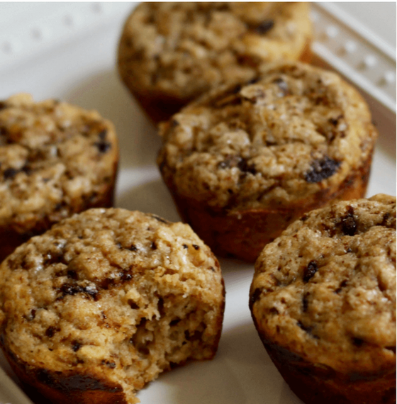 Easy coffee cake muffins fuel your mornings right! These healthy coffee cake muffins use Greek yogurt, not sour cream, making this coffee muffin recipe perfect for breakfast or dessert. #healthymuffins #coffeecake #breakfastidea #easyrecipe #coffeelover