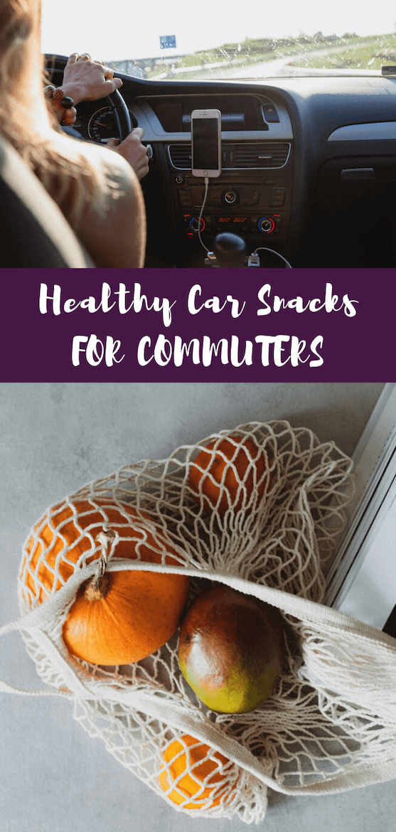 These car snacks are great for road trips and travel for kids and for adults. Add these easy healthy snacks to your commute.