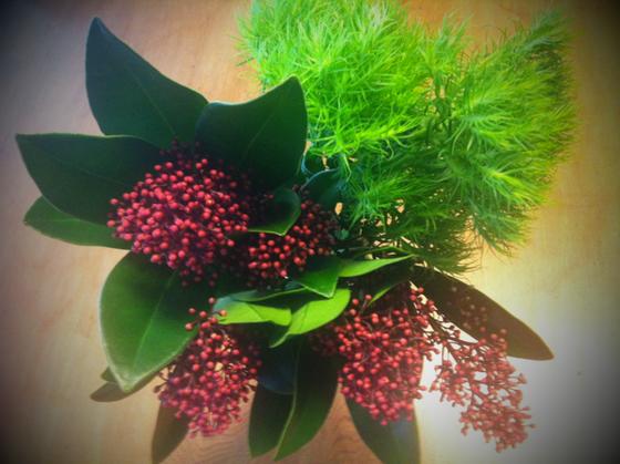 今回の花は、ドライフラワーにしてもよし!な感じをセレクト♪ 、、なんか誕生日っぽくないんですけど~w まあ喜んでくれたんで◎とします、。