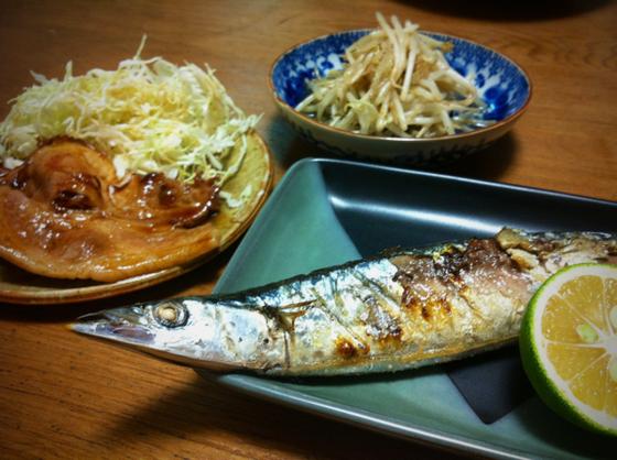秋刀魚サイコー♪♪ 今季初でした♪