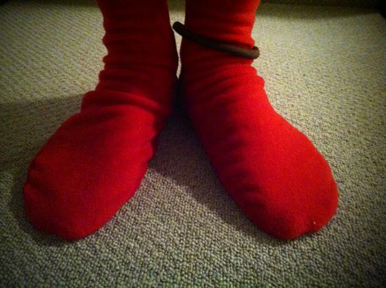 冬は寝るときもソックスを履いて寝る僕なんですが、2週間程前に「ルームソックスが欲しいんやけどなんでもええから買うといて。」って言ったままスルーされてました!てか、されてると思ってました! でもこういうことだったんだと知り♡♪ あったかいわ~wwww