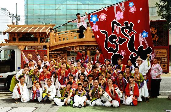 「本山さくら」チームと地方車(2014)