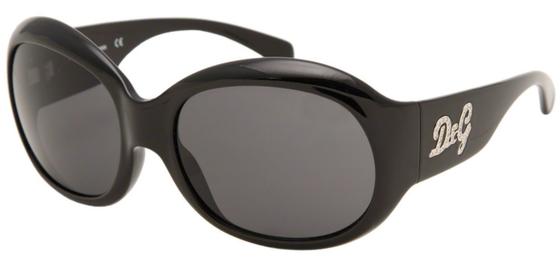 Occhiali da sole donna Dolce & Gabbana Modello: 8045B Colore: 501/87 nero. Colore lenti: grigio. Calibro 62-19. Forma: squadrato. Materiale: plastica. Protezione UV 100%