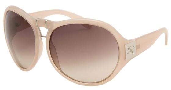 Occhiali da sole donna Dolce & Gabbana Modello: 8048 Colore: 682/13 beige. Colore lenti: marrone sfumato. Calibro 66-15. Forma: tondeggiante. Materiale: plastica. Protezione UV 100%