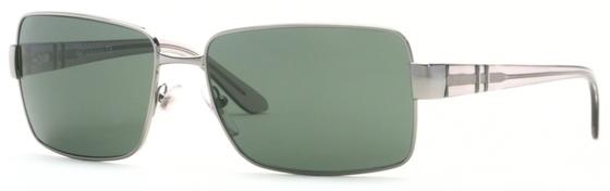 Occhiali da sole donna Persol Modello: 2282-S. Colore: 513/31 canna di fucile. Colore lenti: verde. Calibro 57-16. Forma: Squadrato. Materiale: metallo. Protezione UV 100%