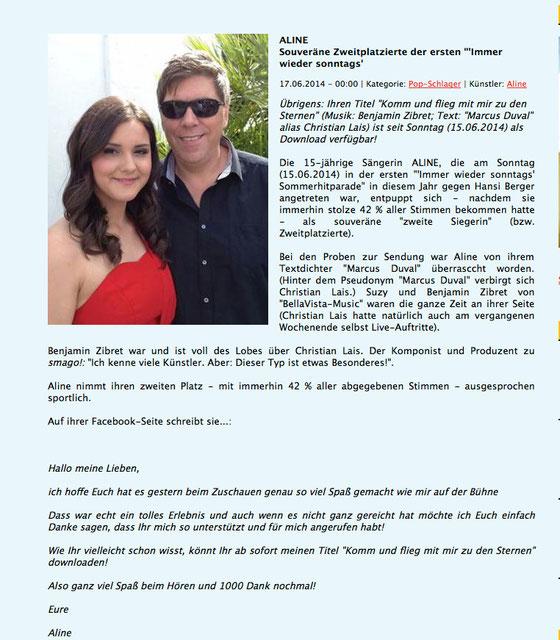 Smagobericht vom 17.6.2014