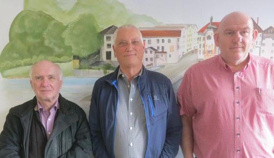 Zweiter Rudi Perzul (3555), Sieger Ulli Rönz (3980), Dritter Volker Willer (3842)