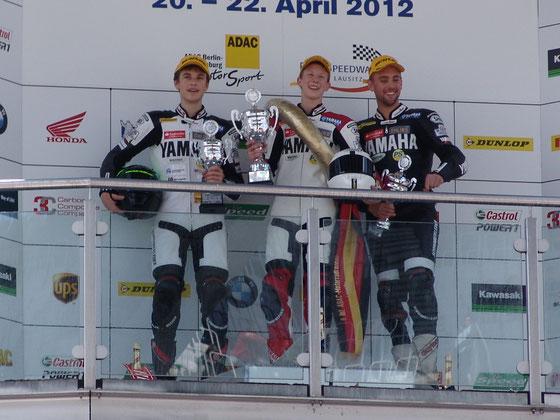 2. Platz, IDM, Lausitzring, Toni Riedel, Marco Nekvasil, Marc Buchner