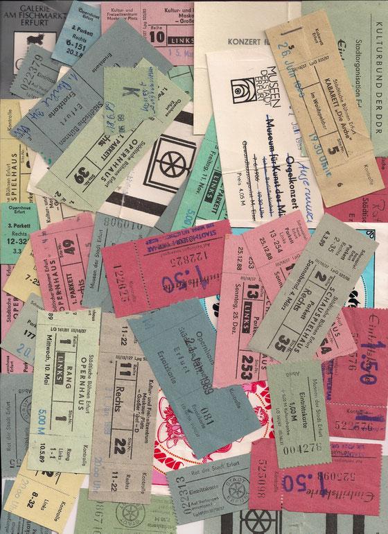 Eintrittskarten Erfurt
