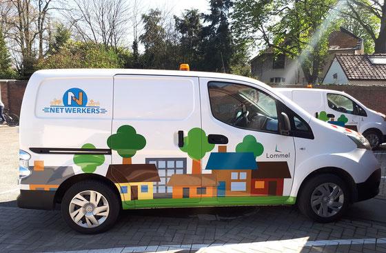 Dirk Van Bun Communicatie en Vormgeving - Grafisch Ontwerp - Netwerkers - logo & wagenpark ontwerp - reclame - Lommel