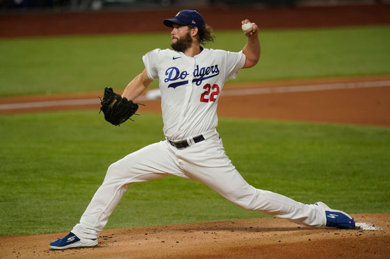 Clayton Kershaw (Photography by Eric Gay / AP)