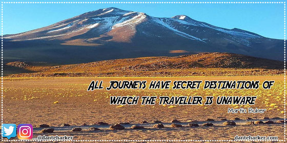 Travel quotes Dante Harker