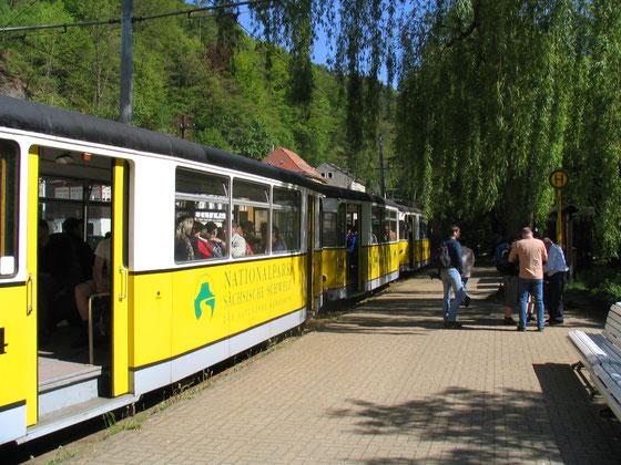 Kirnitzschtalbahn am Kurpark