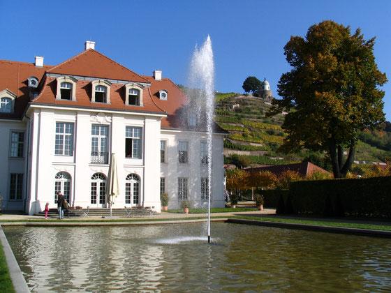 Schloss Wackerbarth mit Jakobstein