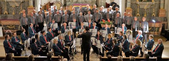 Männerchor und Musikgesellschaft Frickin der Kath. Kirche Frick