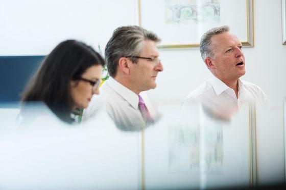 Dr. Auer, Mag. Rehak, Mag. Hammerer (v.rechts nach links)