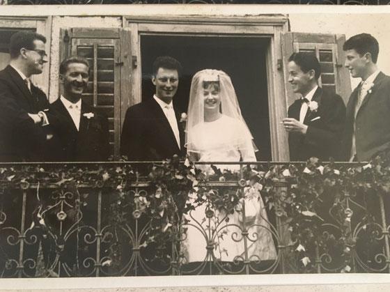 Hochzeit meines Vaters und meiner Mutter 1962