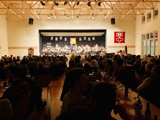 Jahreskonzert des Musikvereins Hergiswil im Loppersaal