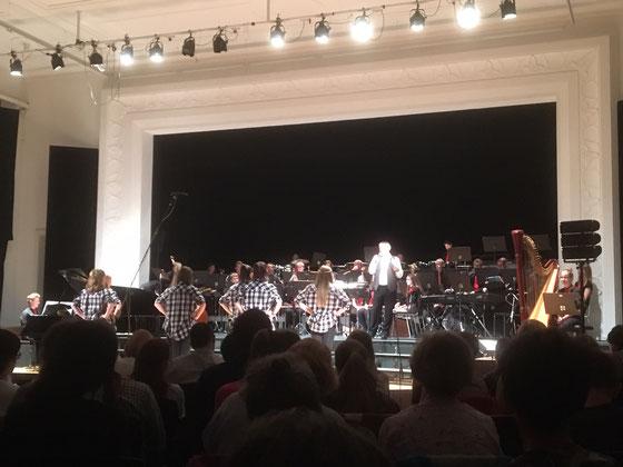 Tanzgruppe, Kollegi-Blasmusik, Joseph Bachmann (Leitung)