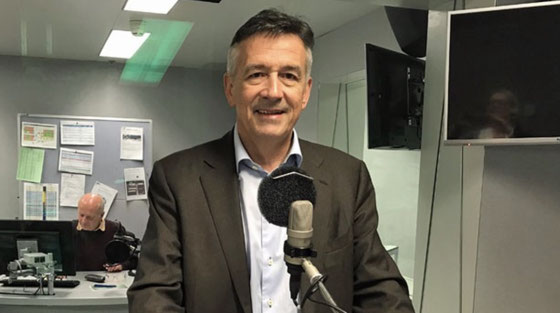Der Nidwaldner Ständerat Hans Wicki kandidiert für den Bundesrat.