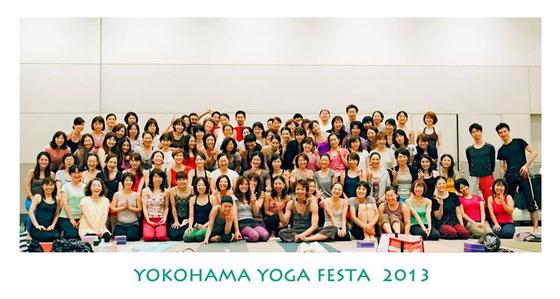 YOGA FESTA2013