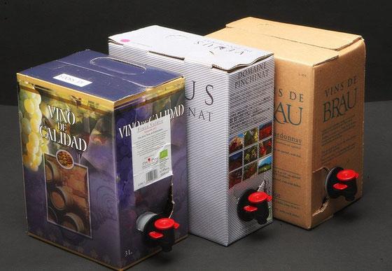 オーガニックワインBOX入り