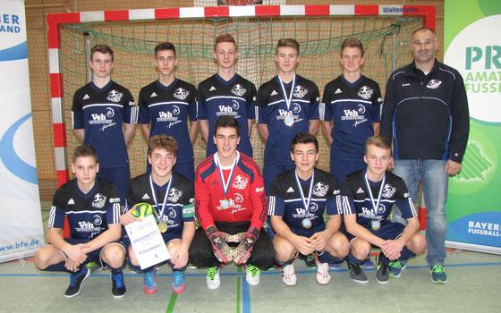 JFG Kinsachkickers - U17 Hallen-Landkreismeister 2015